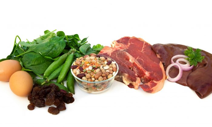 Many foods contain iron, but the body absorbs some much better than others (Shutterstock.com)