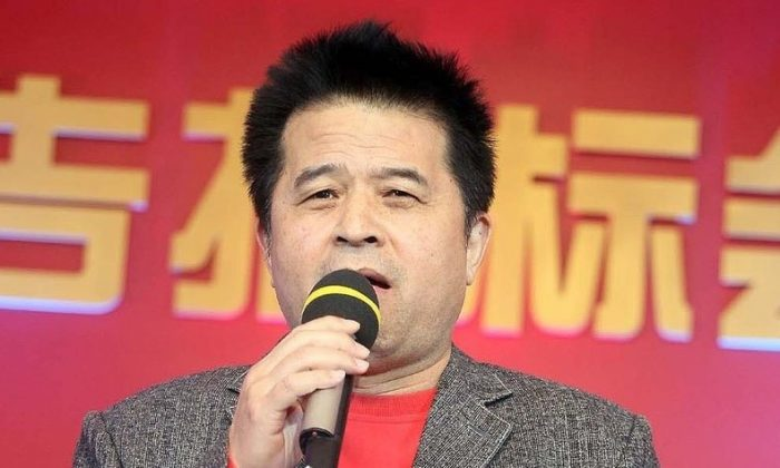 CCTV Anchor Bi Fujian. (Screenshot/Global Times)