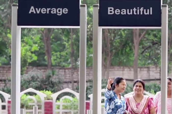 See What Women Do When They Have to Decide If They're Beautiful or Average