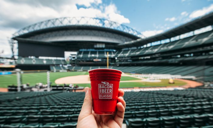Bacon and Beer Classic at Safeco Field. (Joshua Lewis)
