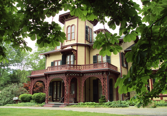Acorn Hall, a 19th century  Victorian Italianate style mansion. (Courtesy of Morris County Historical Society)