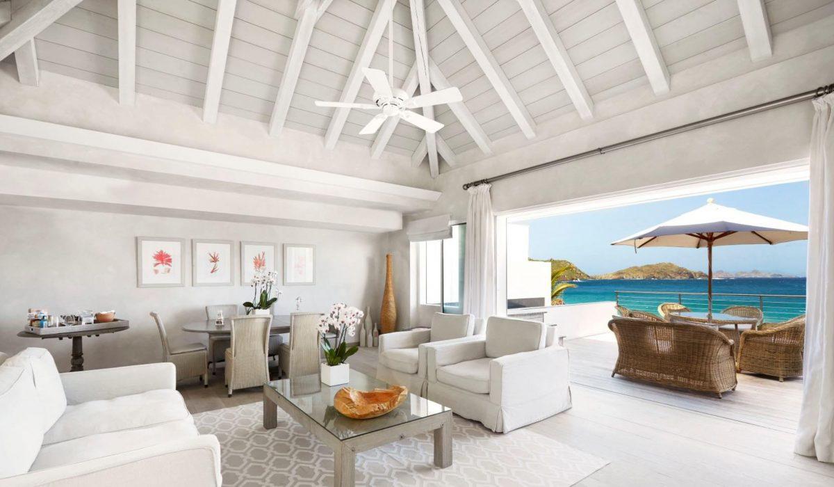 Cheval Blanc St. Barth Isle de France features exclusive private villas in a relaxed atmosphere. (Cheval Blanc St. Barth)