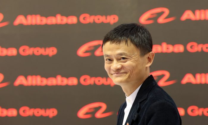 Alibaba Group Executive Chairman Jack Ma attends the 2015 CeBIT technology trade fair on March 16, 2015 in Hanover, Germany. (Sean Gallup/Getty Images)