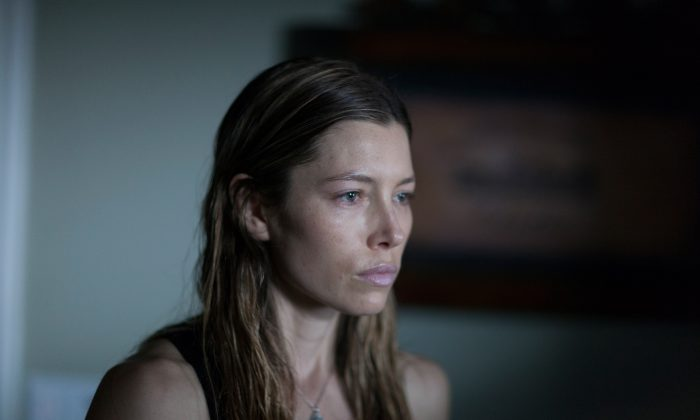"Jessica Biel as May in ""Bleeding Heart"" (Aaron Epstein)"