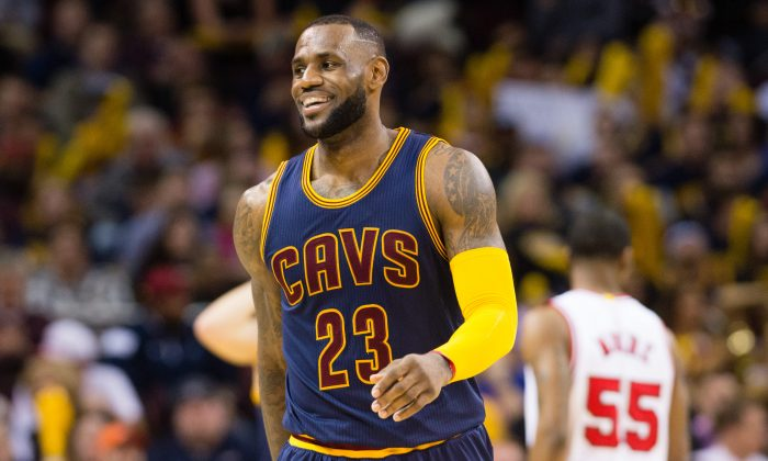 LeBron James has the Cleveland Cavaliers back in the playoffs this year for the first time since 2010. (Jason Miller/Getty Images)