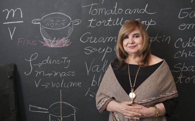 Maricel Presilla, posing in her store Ultramarinos in Hoboken, N.J. (Samira Bouaou/Epoch Times)