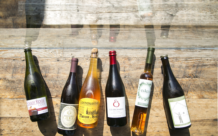 Assorted ciders at The Queens Kickshaw, in Astoria, Queens, on Oct. 17, 2014. (Samira Bouaou/Epoch Times)
