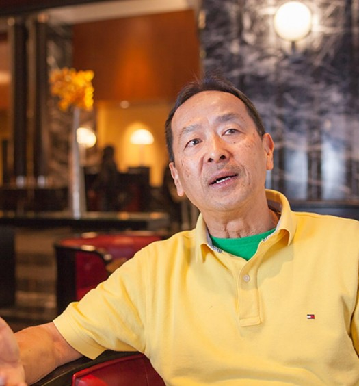 David Lai, Shirley's Coffee Shop owner. (Petr Svab/Epoch Times)