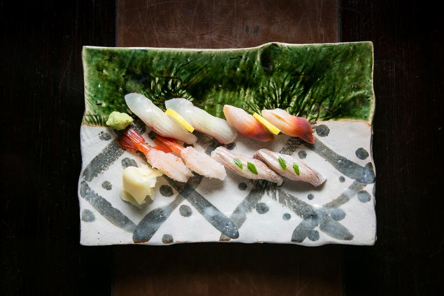 Sushi at Sushi Zen in Manhattan, New York, on April 3, 2015. (Samira Bouaou/Epoch Times)