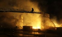 Major Fire Burning in Baltimore as Police Try to Restore Order