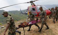 Helicopter Crashes in Nepal Mountains, Killing 4 on Board