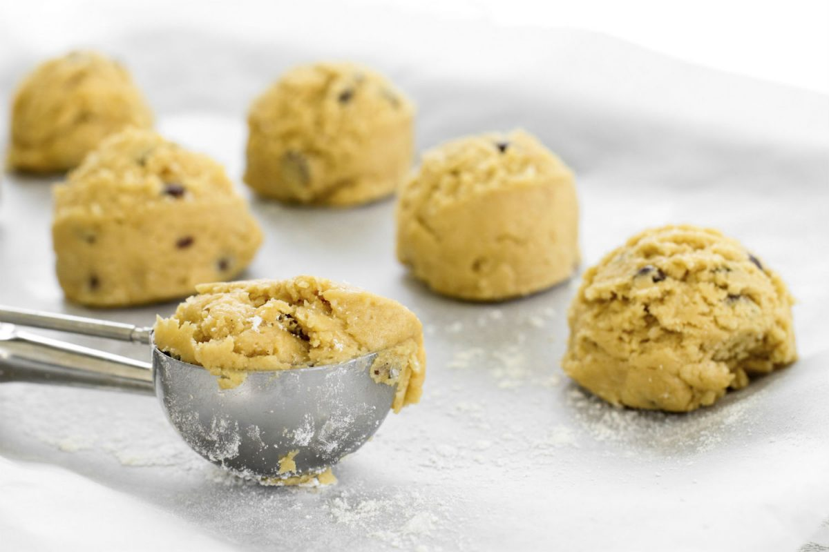 Save a quarter of the recipe to eat as just the dough. Cookie dough is the steak of the dessert world. (ThitareeSarmkasat/iStock/Thinkstock)