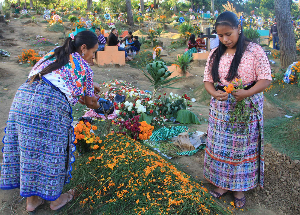 Day of the Dead in Guatemala. (Maricel Presilla)