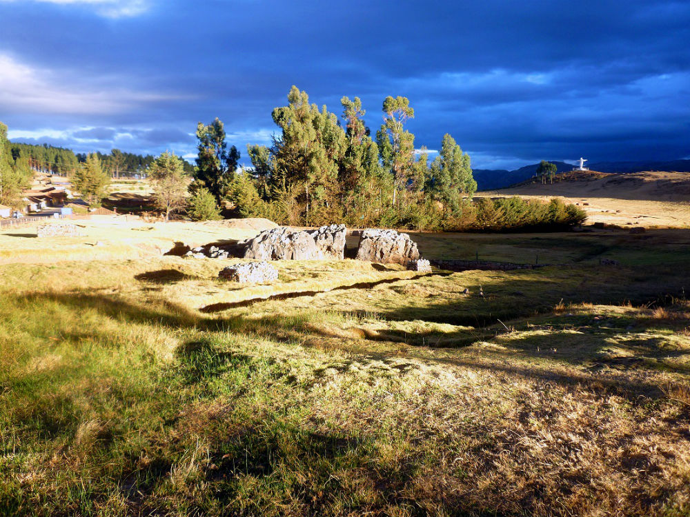 Sadksayhuman, an Inca site in Cusco, Peru. (Maricel Presilla)