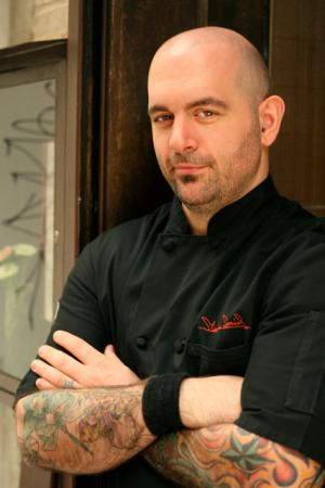 Chef Chris Santos. (Melissa Hom)