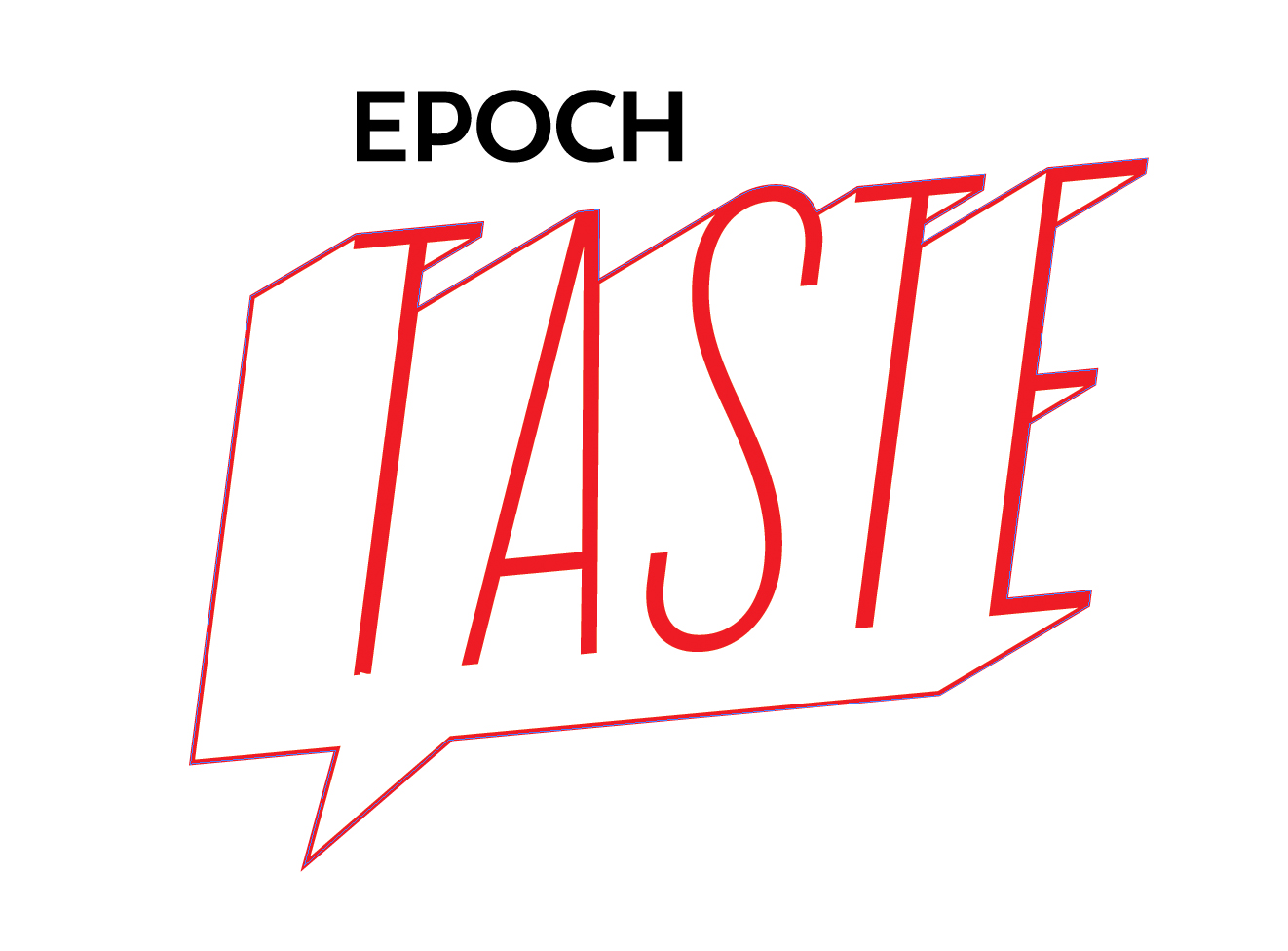 Epoch Taste Social Logo Concept. (Rob Counts/Epoch Times)