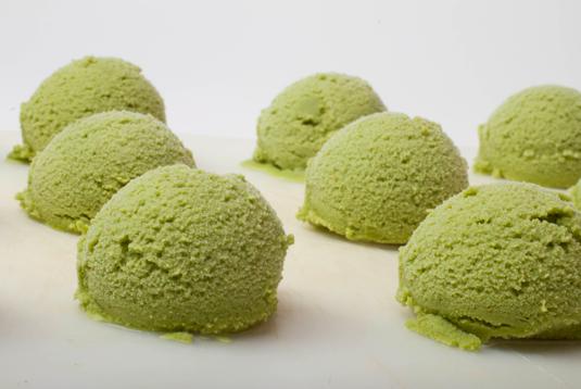 Green tea ice cream. (Dr. Joanne Mumola Williams)