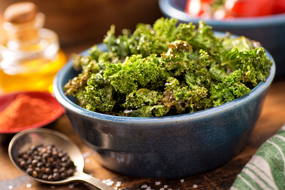 Recipe: Spicy Lime Kale Chips