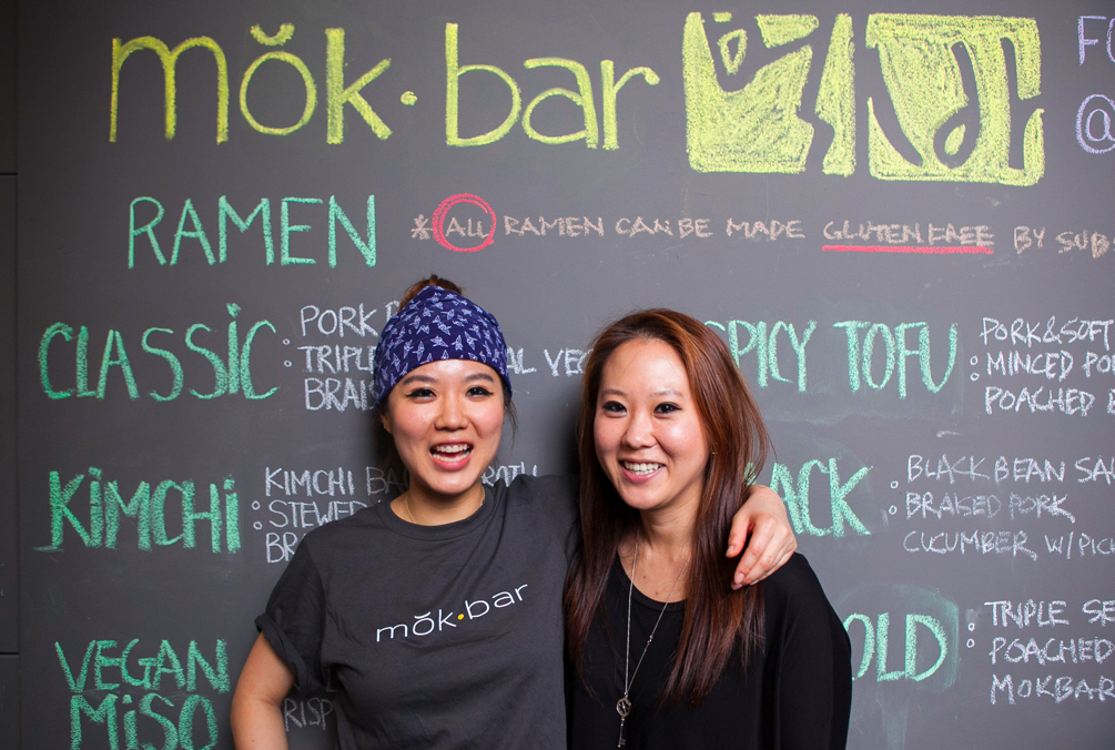 A family affair: Esther Choi (L) with her sister (and director of operations) Jennifer Choi. (Samira Bouaou/Epoch Times)