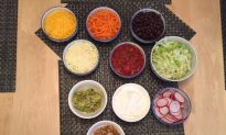 """Cinco de Mayo with a Healthy """"Build Your Own"""" Taco Dinner"""