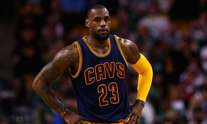 LeBron James will try to lead the Cleveland Cavaliers past the Chicago Bulls and into the conference finals. (Maddie Meyer/Getty Images)