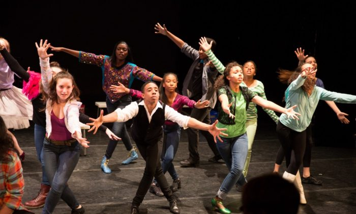 Rosie's Theater Kids perform their annual Passing It On Spring Gala on April 28, 2014. (Rosalie O'Connor/RTKids)