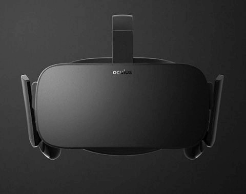 The front side of the Oculus Rift. (Oculus)