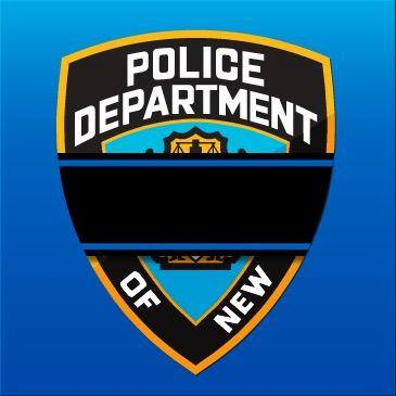 NYPD Mourning Patch (Courtesy NYPD)