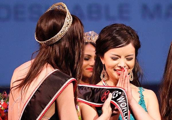 Torontonian Anastasia Lin was named Miss World Canada in a ceremony in Vancouver on Saturday, May 16, 2015. (Andrew Chin)