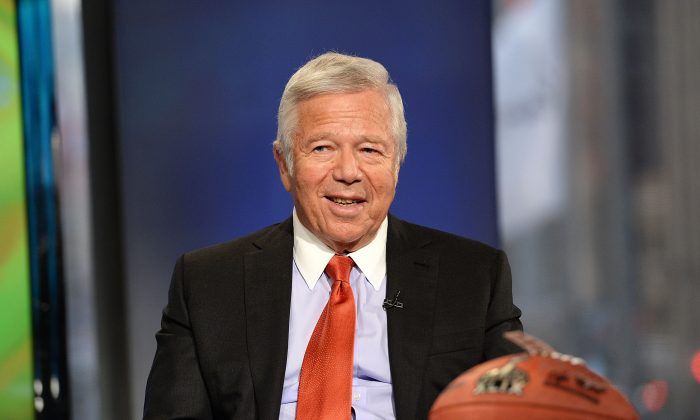 Robert Kraft, the owner of New England Patriots, has seen the team win four Super Bowls during his run as owner. (Slaven Vlasic/Getty Images)