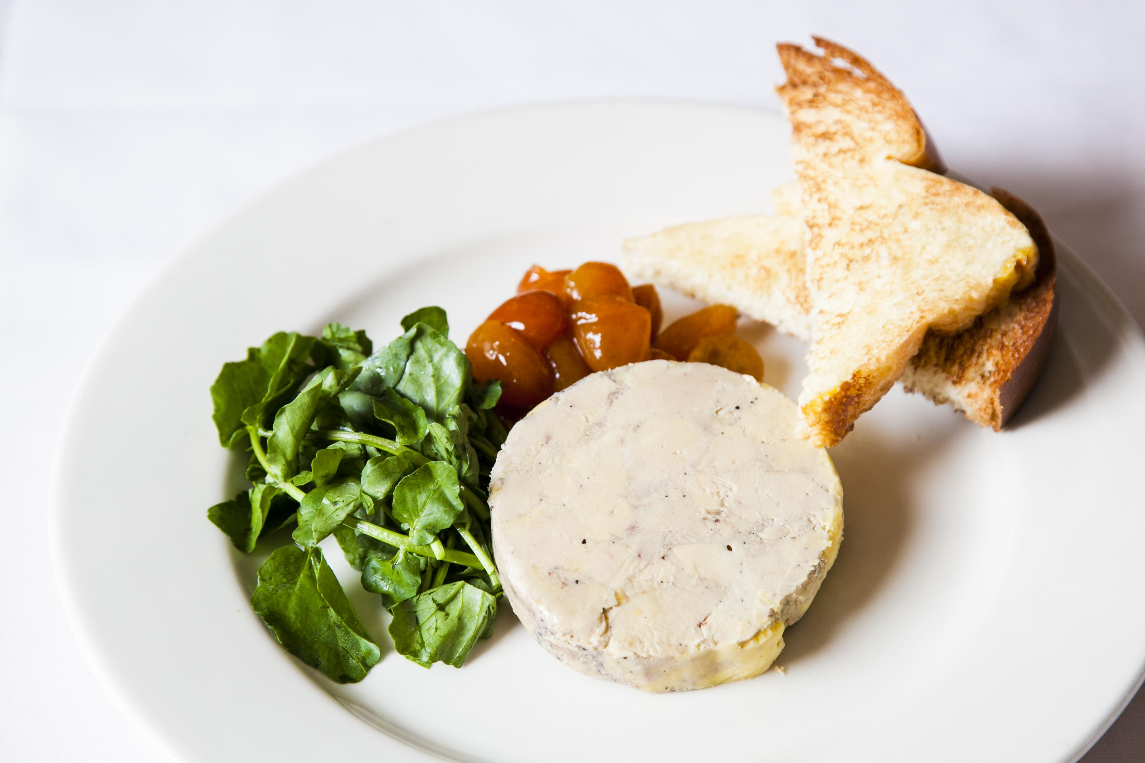 House Made Torchon of Foie Gras. (Samira Bouaou/Epoch Times)