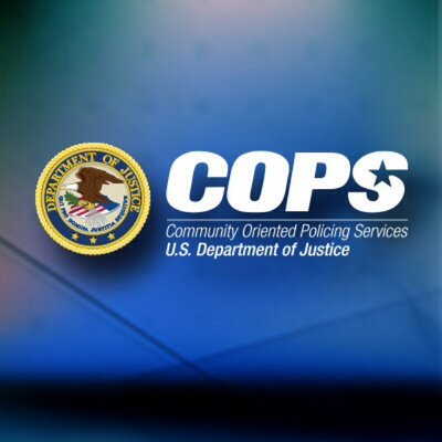 Community Oriented Policing Services (COPS) logo.