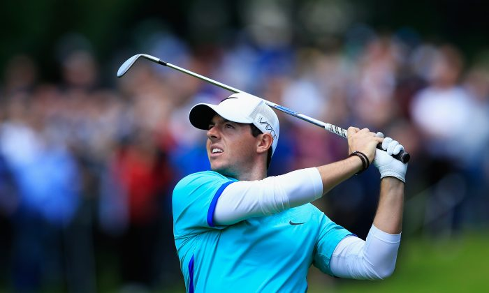Top-ranked golfer Rory McIlroy of Northern Ireland does most of his damage with his driver. (David Cannon/Getty Images)