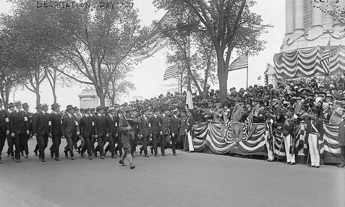 Decoration Day, 1917. Location unstated. (Library of Congress)