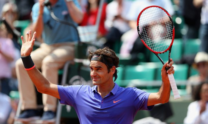 Roger Federer has 17 Grand Slam wins—more than anyone else in the open era—but hasn't won one since 2012. (Clive Mason/Getty Images)