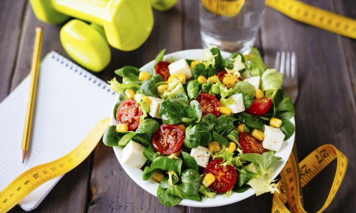 A healthy salad bowl can only help you slim down if you actually eat it.(Martinina/iStock)