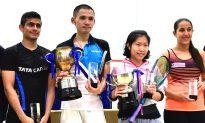 Au and Lee Win WSA/PSA 25 Tournaments