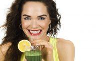 Slim and Sassy Green Juice Formula (Infographic)