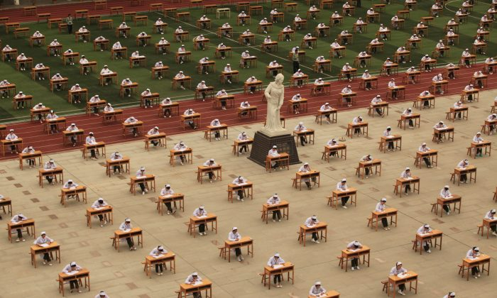 Ancient China wasn't all math and memorization. (ChinaFotoPress/ChinaFotoPress via Getty