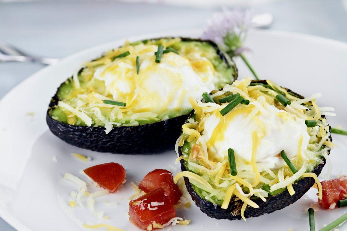 Healthy Breakfast: Baked Avocado Recipe