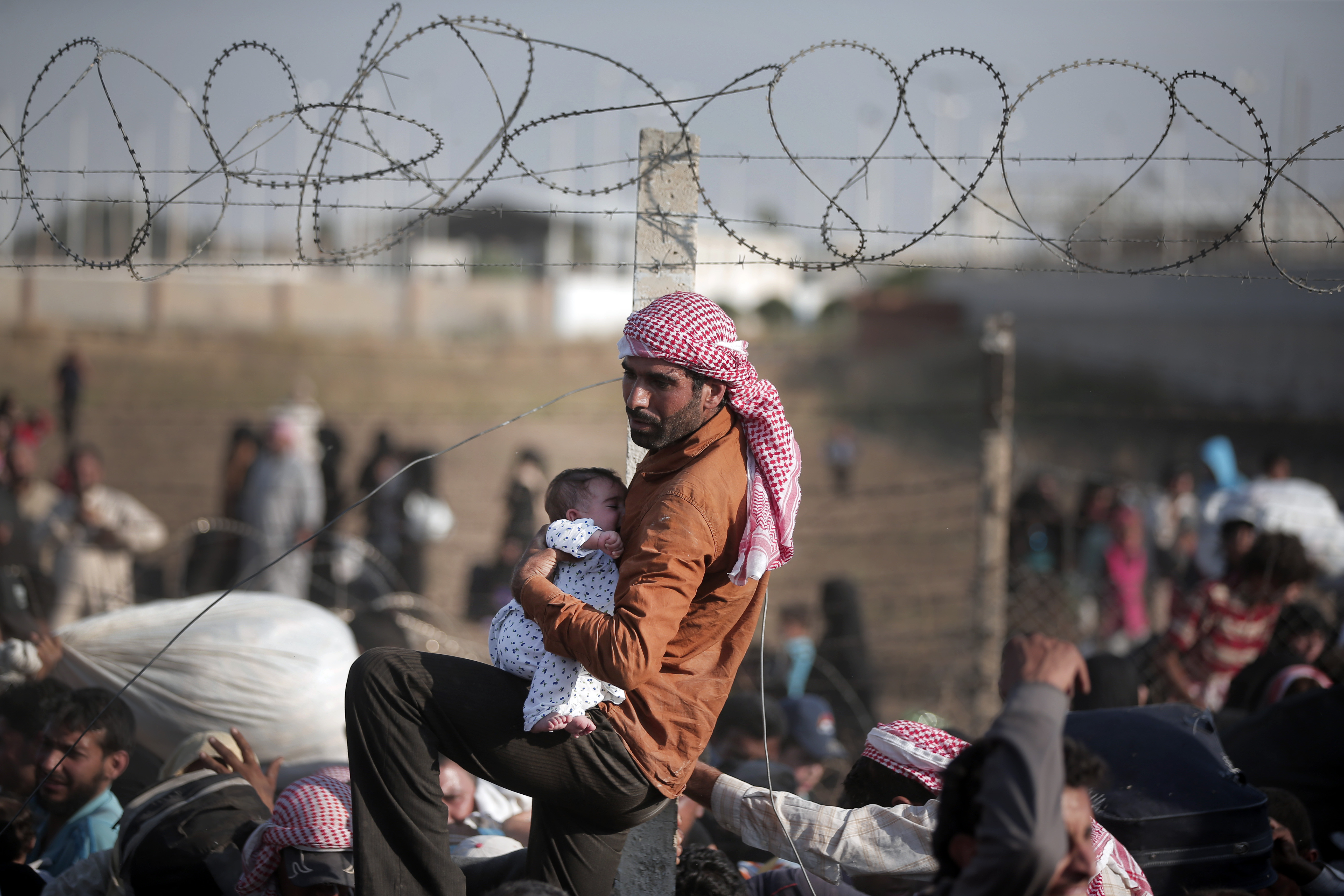 Numbers of Refugees at New Highs
