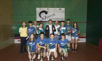 Annie and Leo Au Finish Top in Hong Kong Squash Championship 2015