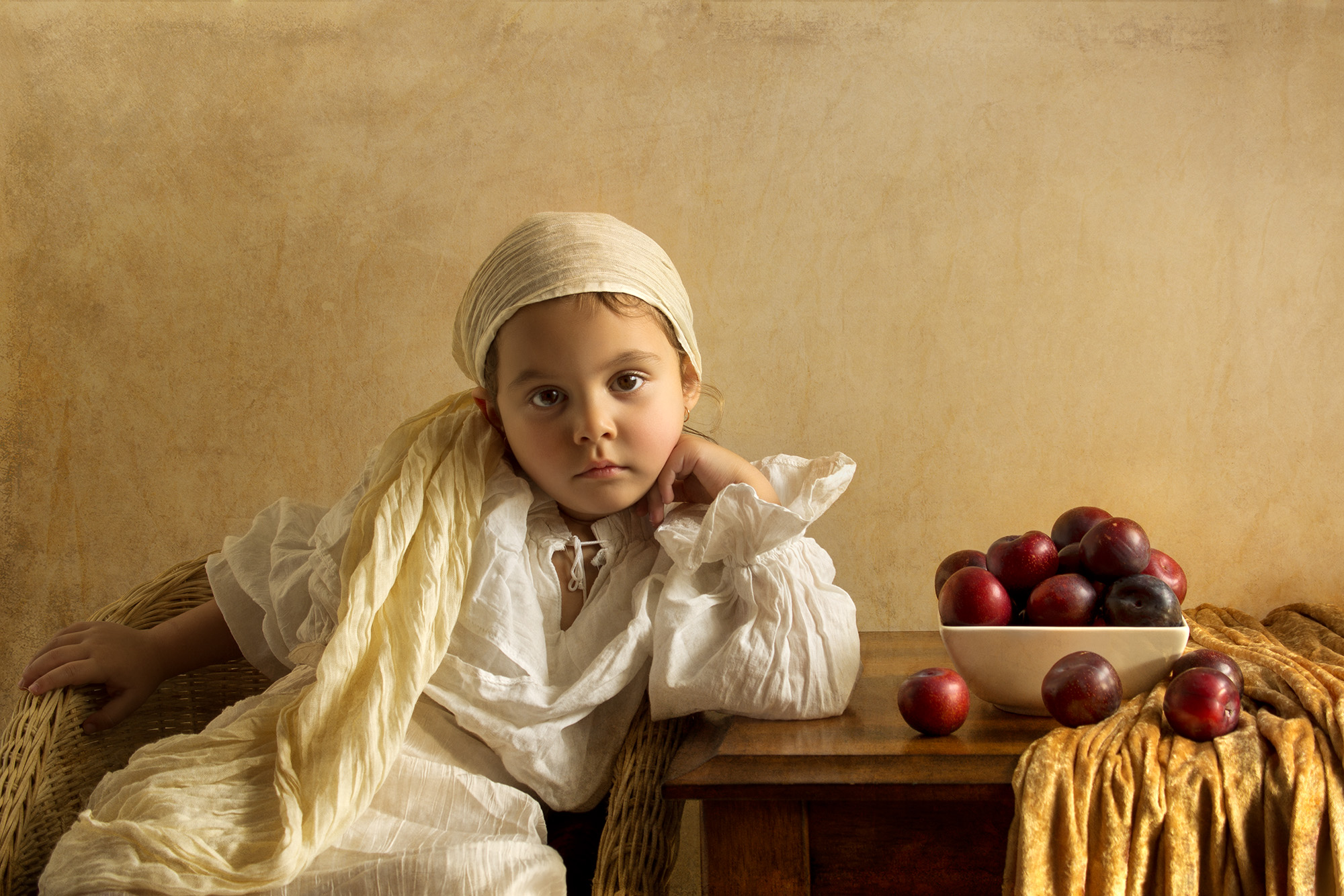 Bill Gekas: Photo Portraits Inspired by Old Masters Paintings