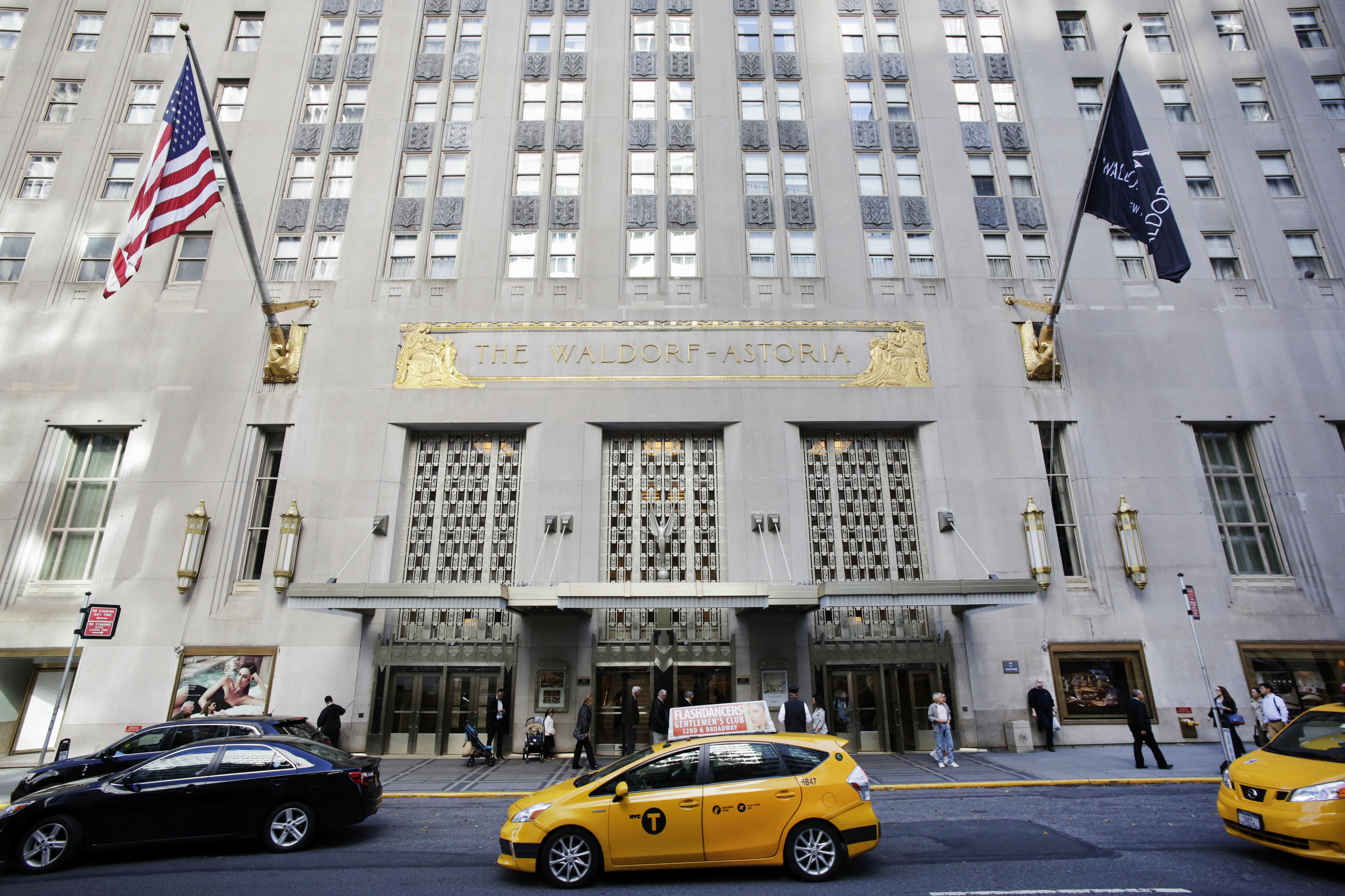 New york hotels booming but there is a problem says experts the waldorf astoria hotel in midtown east in manhattan on oct 6 2014 sciox Image collections