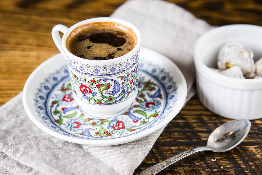 Turkish coffee. (Samira Bouaou/Epoch Times)