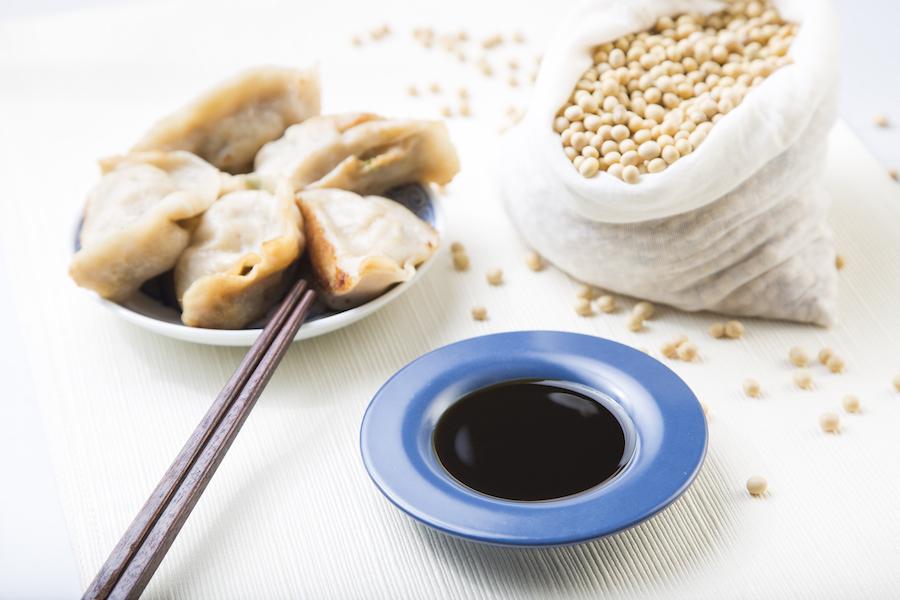 Wan Ja Shan uses non-GMO soy beans. (Samira Bouaou/Epoch Times)