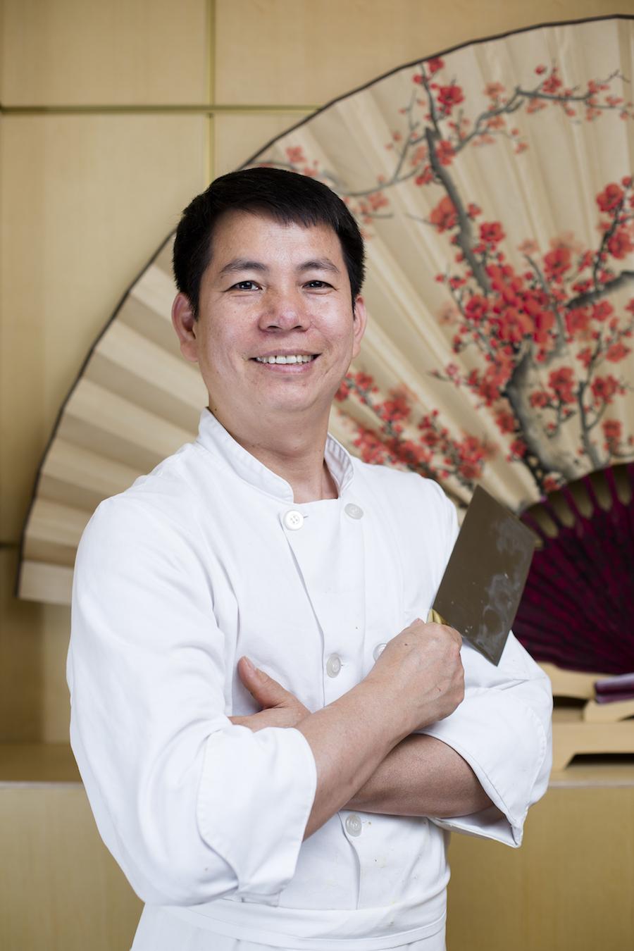 Chef Zizhao Luo. (Samira Bouaou/Epoch Times)