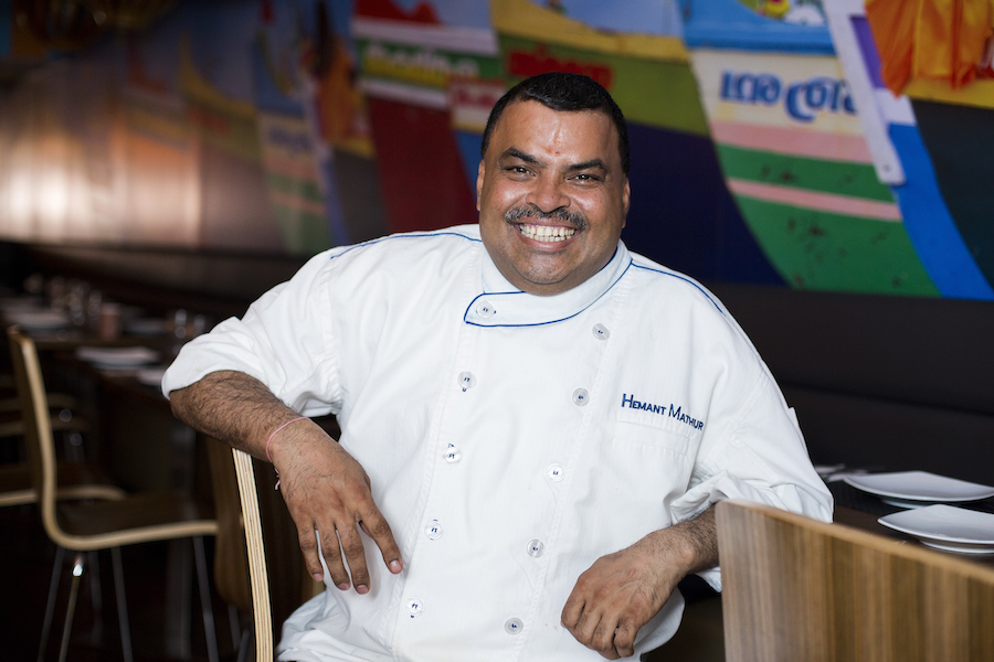 Michelin-starred chef Hemant Mathur takes on regional cuisines of  India with his restaurant group, Fine Indian Dining. He highlights the  cuisine of Kerala at Kokum.(Samira Bouaou/Epoch Times)