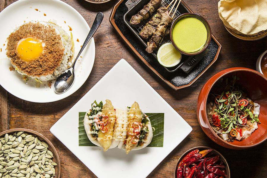 Dishes at Spice Market. (Samira Bouaou/Epoch Times)
