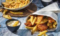 Doors Open to London's Latest Vegan Venture: Fish and Chips